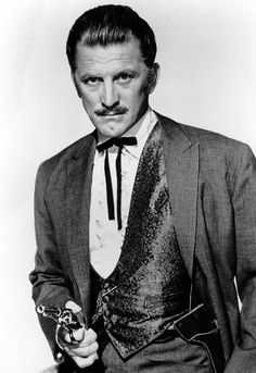 GUNFIGHT AT THE O.K. CORRAL (1957) - Kirk Douglas as gambler Doc Holliday - Directed by John Sturges