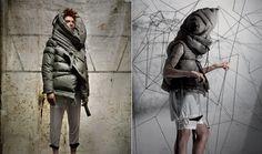 it's a jacket & a pillow - cool! :)