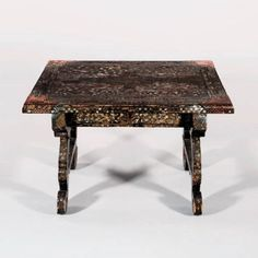 East Asian Countries, 17th Century, Two By Two, Antiques, Wood, Table, Furniture, Period, Home Decor