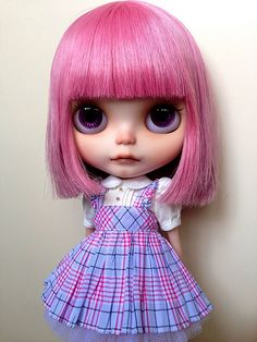 Blythe Doll Mochi <3 by nekodollie, via Flickr