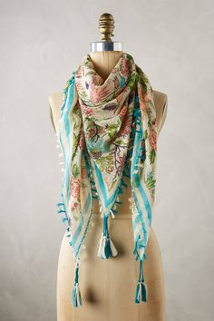 48bb06394b1 at anthropologie Conservatory Square Scarf Square Scarf