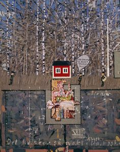 I want a painting of this artist Leonard Rickhard Naive, Norwegian Wood, Collages, Trees, Posters, Paintings, Drawings, Artist, Photos
