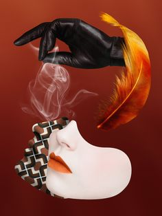 Prada Olfactories on Behance - I LOVE THIS ONE AS WELL!! - SUCH INCREDIBLE WORK!!