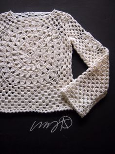 Crochet Sweater General Shaping Instructions Photo Tutorial…