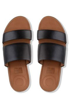 03ccfafa5 Buy FitFlop™ Black Leather Delta Slide Sandal from the Next UK online shop