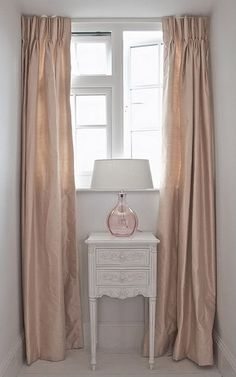 Blush Rose Silk Curtains I Got Erflies When Saw This For Grey