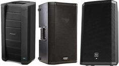 Here are the best ✅ Powered PA Speakers ✅ (also known as active PA speakers) as determined by their Gearank scores out of Powered Pa Speakers, Loudspeaker, Locker Storage, Audio, Live, Top, Speakers, Crop Shirt, Shirts