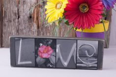 Love Photo Block Sign - Love Letter Photo Sign - Black and White Love Wood Sign - Alphabet Photography - Original Photo Letter - Gray Sign by on Etsy Photo Letters, Love Letters, Love Wood Sign, Wood Signs, Alphabet Photography, Black And White Love, Photo Blocks, Love Photos, Handmade Items