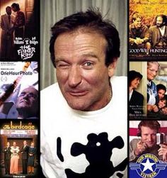 Robin Williams RIP - today's news doesn't make me happy obviously, but Robin Williams often did.