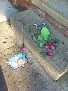 David Zinn strikes again at Acme Mercantile!