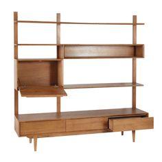Solid oak vintage TV shelf unit W Vintage Tv, Vintage Regal, Vintage Shelf, French Furniture, Living Furniture, Cool Furniture, Furniture Design, Rustic Furniture, Outdoor Furniture