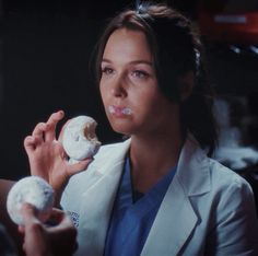 We Donut care what people think Greys Anatomy Alex, Grey Anatomy Quotes, Greys Anatomy Memes, Grays Anatomy, Lexie Grey, Jo Wilson Grey's Anatomy, Camilla Ludington, Greys Anatomy Characters, Gray Aesthetic