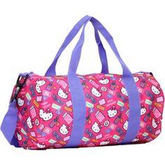 Hello Kitty Bon Voyage Barrel Duffle Bag - Walmart.com