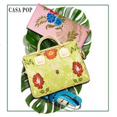 Upgrade your spring wardrobe with clutches and bags from the Benaras collection that showcases blends of floral motifs in soft colors. Casa Pop, Trendy Collection, Luxury Home Decor, Soft Colors, Floral Motif, Hermes Kelly, Fashion Brand, Accent Decor, Clutches