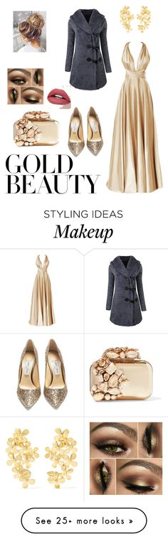 """New Year's Eve"" by siramed-massetti on Polyvore featuring Jimmy Choo and Pippa Small"