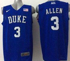41192aa53cc Blue Devils #3 Grayson Allen Royal Blue Basketball Elite Stitched NCAA  Jersey