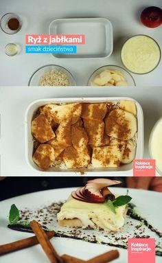 Ryż z jabłkami i budyniem – prosty i szybki deser