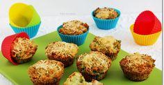 Az édes muffin mellett nagy kedvencem a sós, zöldséges változat is, melyet fogyaszthatunk pl. egy tányér leves után második fogásként ... Muffin, Dinner, Breakfast, Health, Recipes, Food, Kitchen, Shapes, Diet