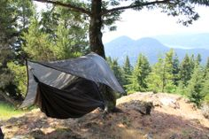 Hennessey hammock with a spectacular view.