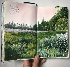 art, aesthetic i nature grafika w We Heart It Kunstjournal Inspiration, Art Journal Inspiration, Art Inspo, Art Sketches, Art Drawings, Drawing Art, Arte Sketchbook, Travel Sketchbook, Sketchbook Ideas