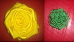 Blog do passo a passo: flores de fita