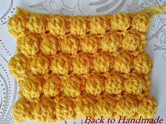 Πλέξη καρυδάκι - Back To Handmade