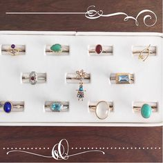 Some of my favorite conversion rings; stack some up now- shop link in bio!
