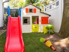 Spielhaus aus Kunststoff