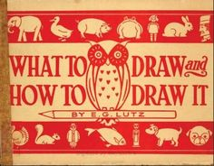Download a historic 78-page children's drawing book for free! draw book