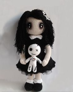 Amelia Voodoo Doll Please Dont Quarrel Mom and Dad
