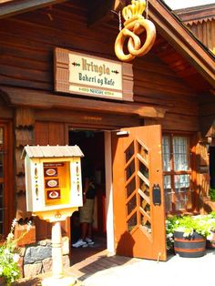 Kringla Bakeri Og Kafe in Norway at Epcot ~ Home to the famous School Bread!