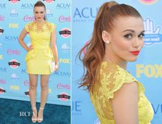 Holland Roden in Marchesa Notte .