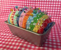 T and T Farm Girl Vintage - Loaf of Bread - Pin Cushion
