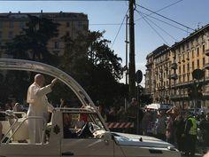 Papst Franziskus in Mailand