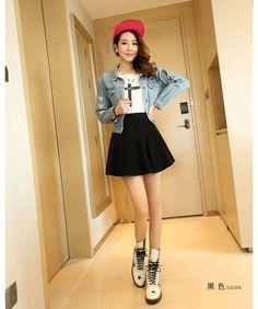 ropa coreana casual juvenil femenina - Buscar con Google | ropas ...