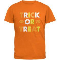 Halloween Trick Or Treat Mandarin Adult T-Shirt
