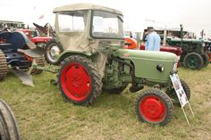 A Fendt Fix of 1959 Parcs, Monster Trucks, Germany, Vehicles, Seed Drill, Tractor, Deutsch, Car, Vehicle