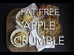 VEGAN APPLE CRUMBLE - fat & gluten free - YouTube
