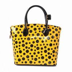 M40600 Louis Vuitton Yayoi Kusama Lockit Gelb Louis Vuitton Damen Taschen