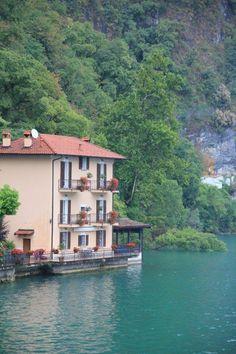 Lago di Lugano in Lugano, Tessin