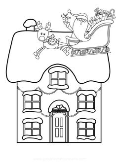 Fall Coloring Pages, Coloring Pages For Kids, Coloring Books, Adult Coloring, Printable Christmas Coloring Pages, Free Christmas Printables, Free Printables, Christmas Crafts For Kids, Christmas Colors