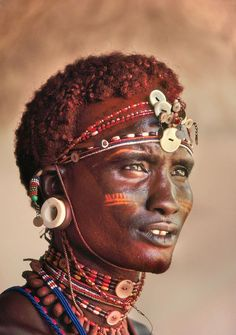 Samburu warrior, Kenya by Frans Lanting Explore the World with Travel Nerd Nici, one Country at a Time. http://TravelNerdNici.com