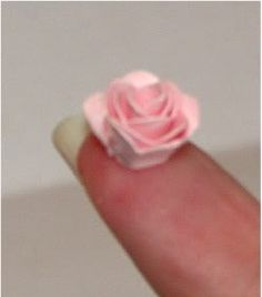 All things paper folded rose tutorial ive done this freehand all things paper folded rose tutorial ive done this freehand with ribbon but need to try it with quilling paper crafts paper pinterest rose mightylinksfo