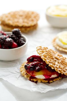 Combine tangy lemon flavors and fresh seasonal fruits to create the perfect summery dessert: Roasted Berry Napoleons.