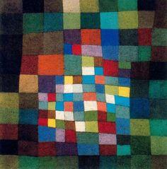 """""""In der Wüste"""" von Paul Klee. Ein Klee-inspirierter Quilt wäre toll!"""