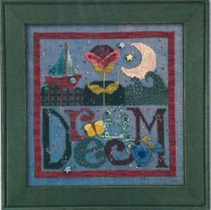Dream (with Buttons) - Cross Stitch Pattern