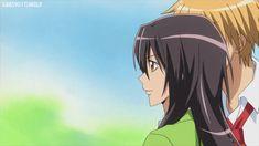 Discover & share this Anime GIF with everyone you know. GIPHY is how you search, share, discover, and create GIFs. Best Romantic Comedy Anime, Usui Takumi, Maid Sama Manga, Dengeki Daisy, Kaichou Wa Maid Sama, Kawaii, Animated Gif, Anime Characters, Animation