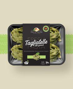 Pasta Delivery, Pasta Brands, Food Packaging Design, Fresh Pasta, Brand Design, Label Design, Italian Recipes, Homemade, Foodies