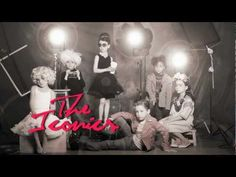 Iconics photo series by Olga Laris was shot for the February 2012 issue of bbmundo magazine and showcases tiny versions of famous actors and artists. From left to right the kids are dressed up to look like Marilyn Monroe, Andy Warhol, Audrey Hepburn, James Dean, Basquiat, and Frida Kahlo.