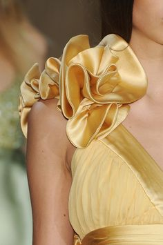 Elie Saab Spring 2009 Details ✤ | Keep the Glamour | BeStayBeautiful